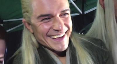 Legolas - प्रशंसक Reaction Desolation Smaug Trailer