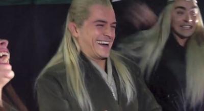 Legolas - پرستار Reaction Desolation Smaug Trailer