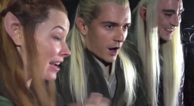Legolas - fã Reaction Desolation Smaug Trailer