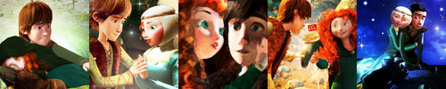 LightningRed's 5 in 1 Icon Set - Hiccup and Merida