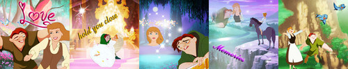 LightningRed's 5 in 1 Icon Set - Quasimodo and Cinderella