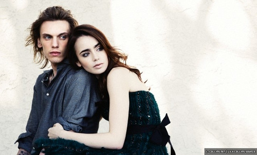 """Lily (+ TMI castmates) for """"Live"""" magazine UK [by John Russo]"""