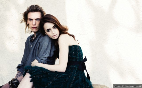 "Lily (+ TMI castmates) for ""Live"" magazine UK [by John Russo]"