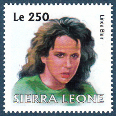 Linda Blair Stamp