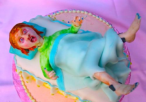 Linda Blair cake