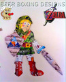 Link created with Beer Boxes - the-legend-of-zelda fan art
