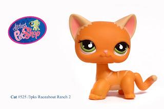Littlest Pet Shop Cat #525