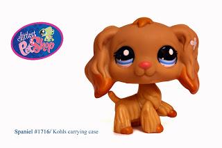 Littlest Pet Shop Cocker Spaniel #1716 RARE!