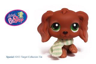Littlest Pet comprar Cocker spaniel, perro de aguas #252 RARE!