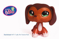 Littlest Pet Shop Dachshund #675 RARE!