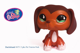 Littlest Pet Shop wallpaper titled Littlest Pet Shop Dachshund #675 RARE!