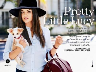 Lucky Magazine - August 2013