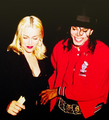 Madonna and Michael Jackson ♥♥
