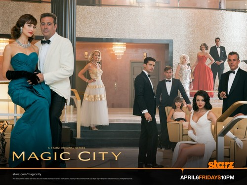 Magic City kertas dinding