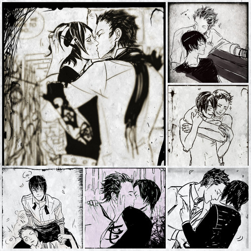 Alec & Magnus fondo de pantalla with anime entitled Malec