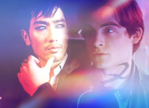 Alec & Magnus fondo de pantalla titled Malec