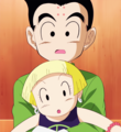 Marron and Krillin in 'Battle Of Gods' DBZ Movie 2013