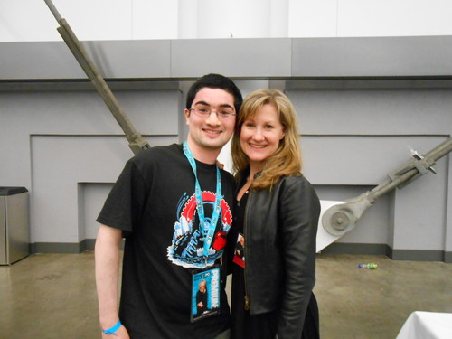 Me with Veronica Taylor-Fan Expo Vancouver 2013