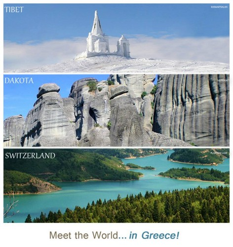 Meet the world...in Greece