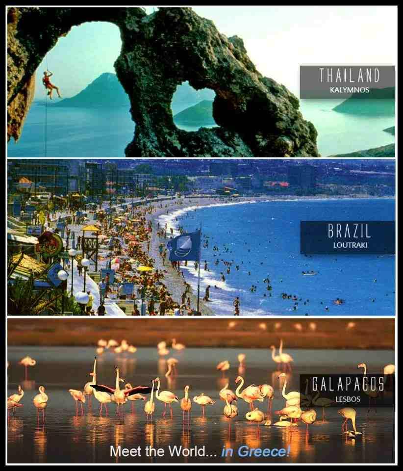 Meet the world...in Greece