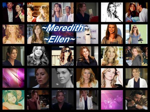 Meredith & Derek karatasi la kupamba ukuta with anime entitled Mer'Ellen