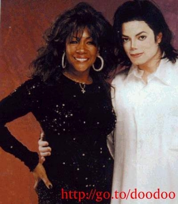 Michael And Former Supremes Vocalist, Mary Wilson