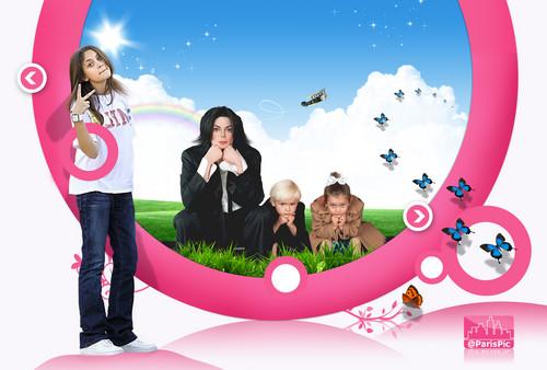 Michael Jackson Children Family Fly (@ParisPic)