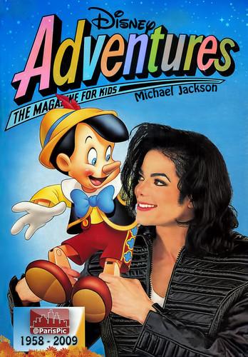 Michael Jackson Edit Cover Disney (@ParisPic)