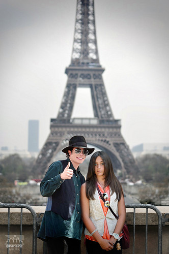 Michael Jackson Eiffel Tower Paris Jackson (@ParisPic)