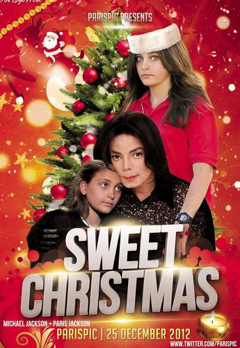 Michael Jackson Sweet クリスマス Paris Jackson (@ParisPic)