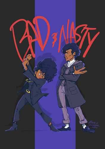 Michael Jackson and Janet Jackson - Bad and Nasty ♥♥