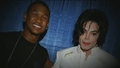 Michael and Usher - michael-jackson photo