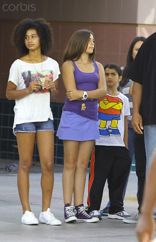 Michaela, Paris Jackson and Blanket Jackson ♥♥