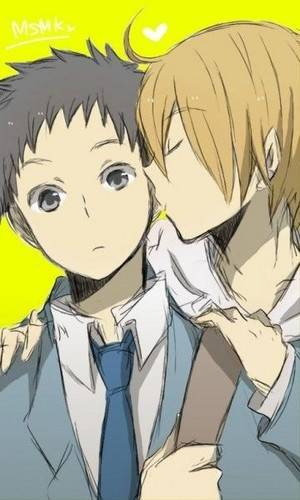 Mikado and Masaomi (Durarara!!)