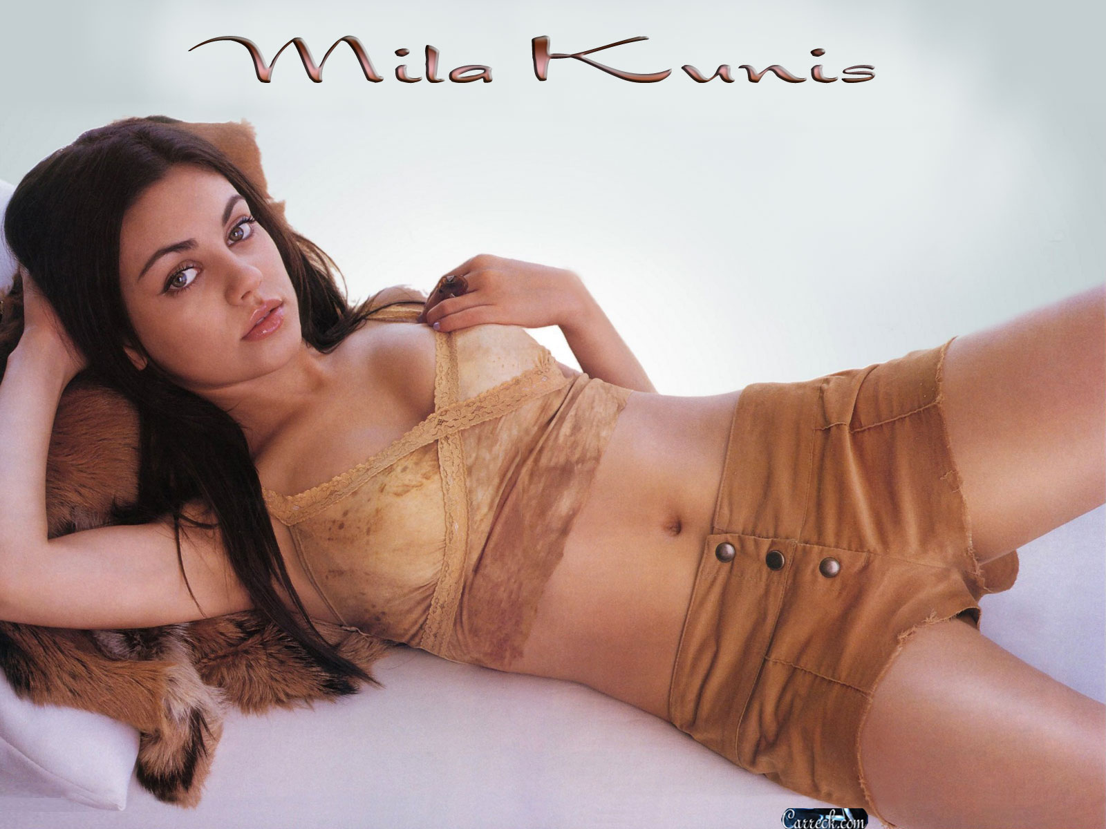 Обои of Mila Kunis for Фаны of Мила Кунис 34831456.
