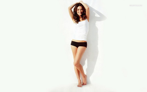 Mila Kunis wallpaper with tights, a leotard, and a playsuit entitled Mila