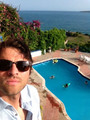 Misha in Haiti - misha-collins photo