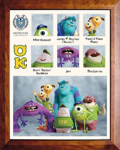 Monsters università Fraternities and Sororities