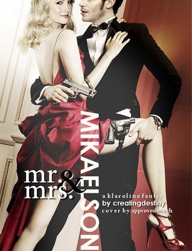 Mr and Mrs. Smith: Klaroline style. Need I say more?