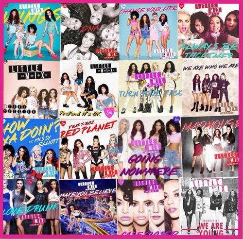 My DNA Deluxe Edition Song Album Collage