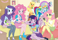 My Little parang buriko Equestria Girls