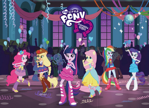 My Little gppony, pony Equestria Girls