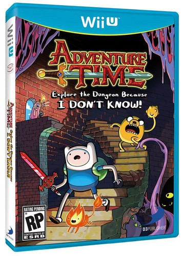 NEW Adventure Time Video Game for the Wii