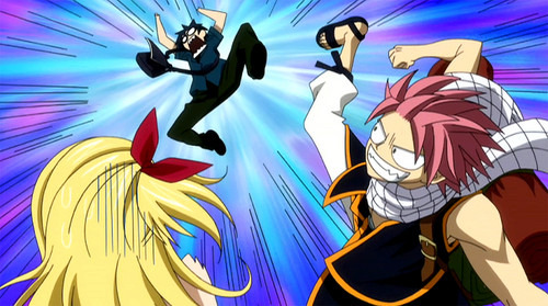 Natsu, Gray and Lucy