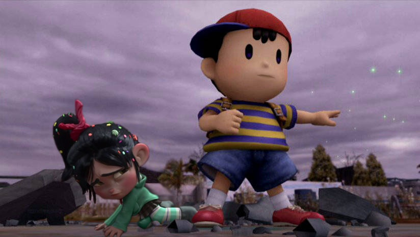 Ness protects Vanellope