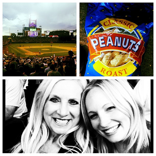 New Instagram bức ảnh - Candice @ a baseball game [28/06/13]