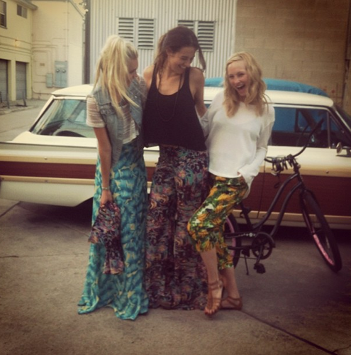 New Twitter pic - montrer Me Your Mumu's Secret Shopping Party [25/06/13]