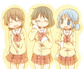 Nichijou - anime fan art
