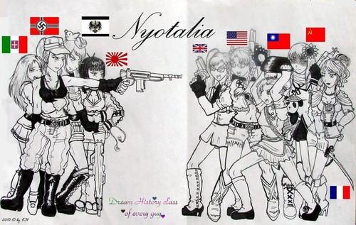 Nyotalia girls!^^