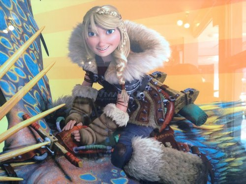 Older Astrid from How To Train Your Dragon 2
